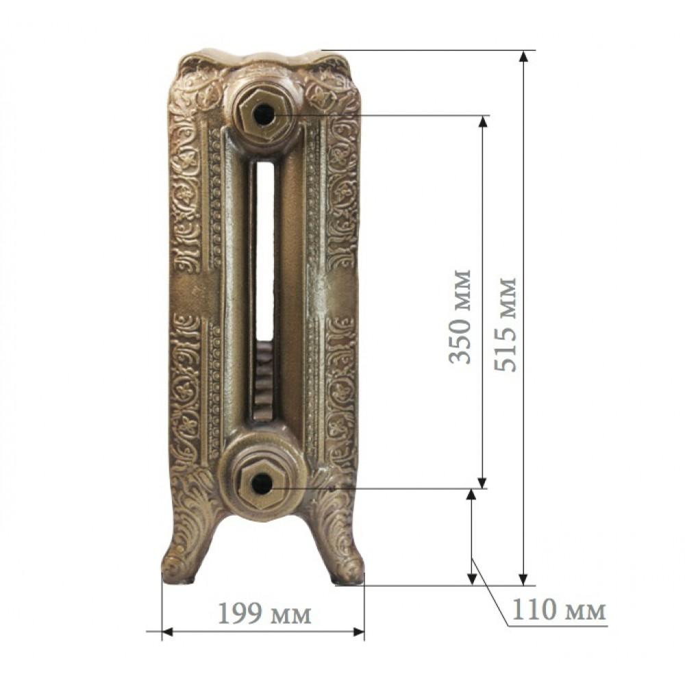 Чугунный радиатор Demir Dokum Historic