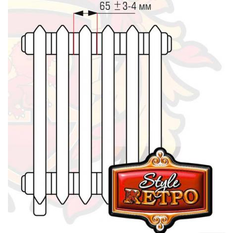 Чугунный радиатор RETROstyle Chester