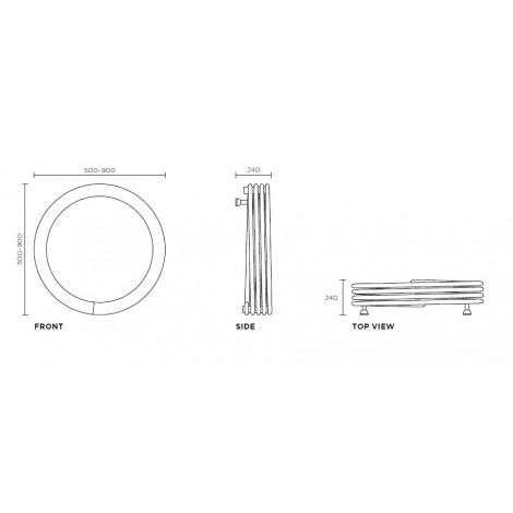 Полотенцесушитель Runtal Hot Hoop
