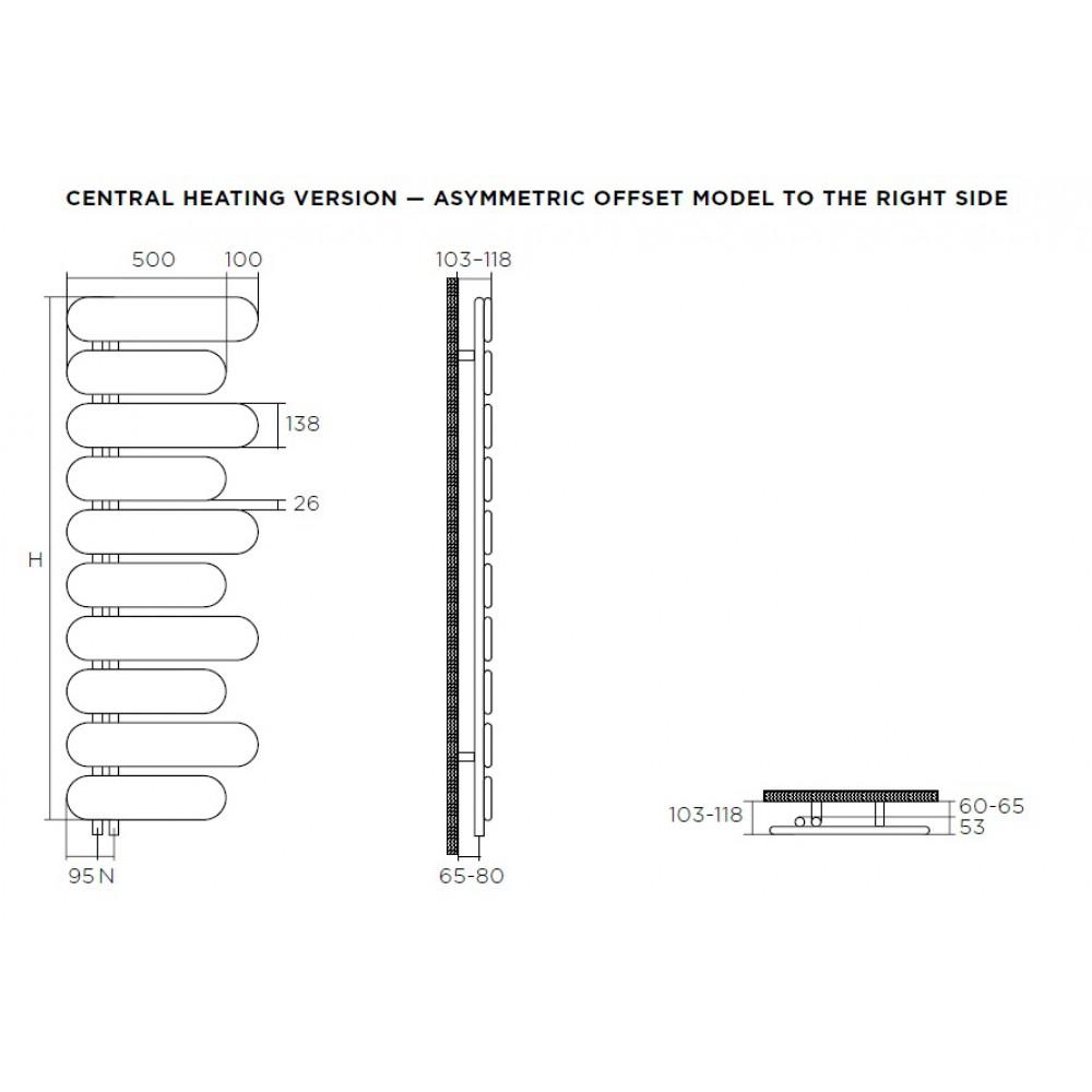 Дизайн-радиатор Runtal Puzzle
